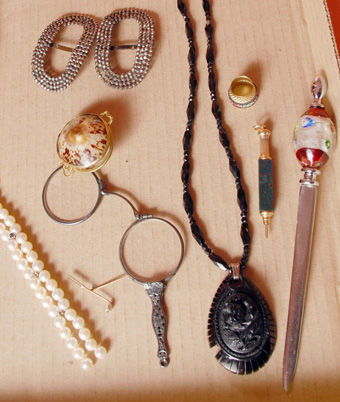 Antique Lorgnette and Similar