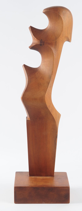 Abstract Sculpture Signed G. Carli, 1973