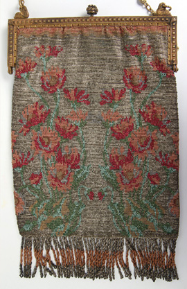 Antique Beaded Bag