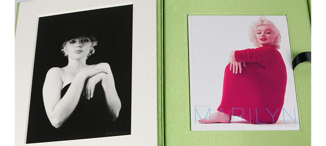 milton greene (1922-1985) marilyn monroe print and book