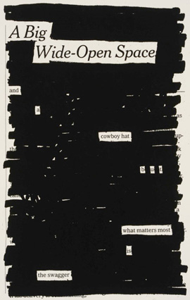'Newspaper Blackout Poems' Austin Kleon