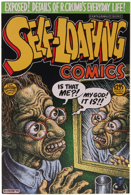 R. Crumb, Self-Loathing Comics