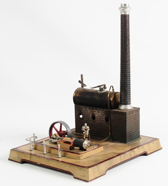 Live-Steam Toy Power Plant
